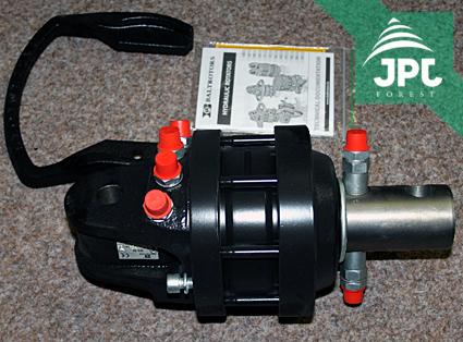 Hydraulický rotátor - hlavní
