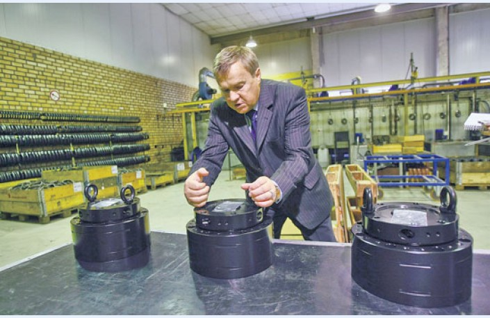 Kontrola hydraulických rotátorů Baltrotors