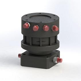 Rotátor s pevnou montáží
