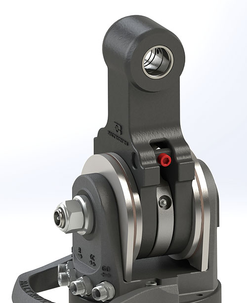 Propojení hydraulických rotátorů Baltrotors