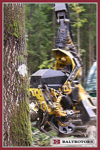Rotátory pro harvestory Baltrotors